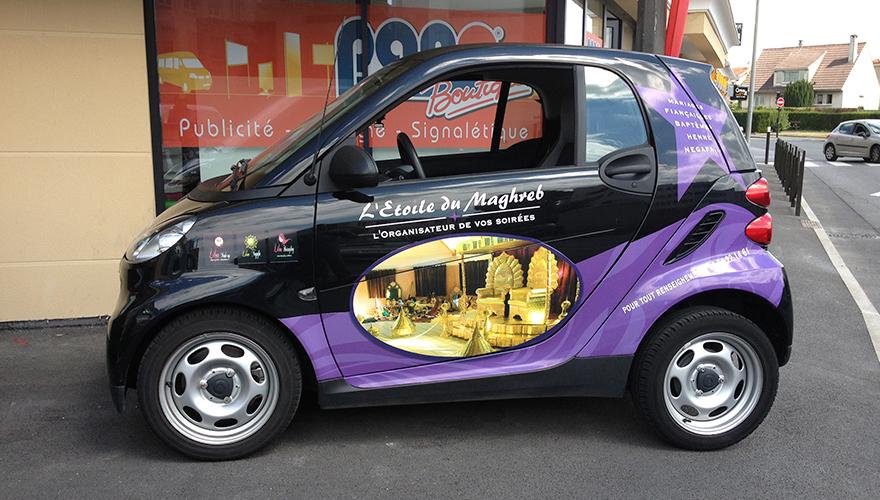 Habillage véhicule côtés impression numérique